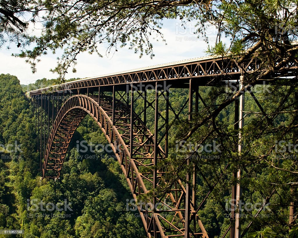 New River Gorge Bridge 2 stock photo