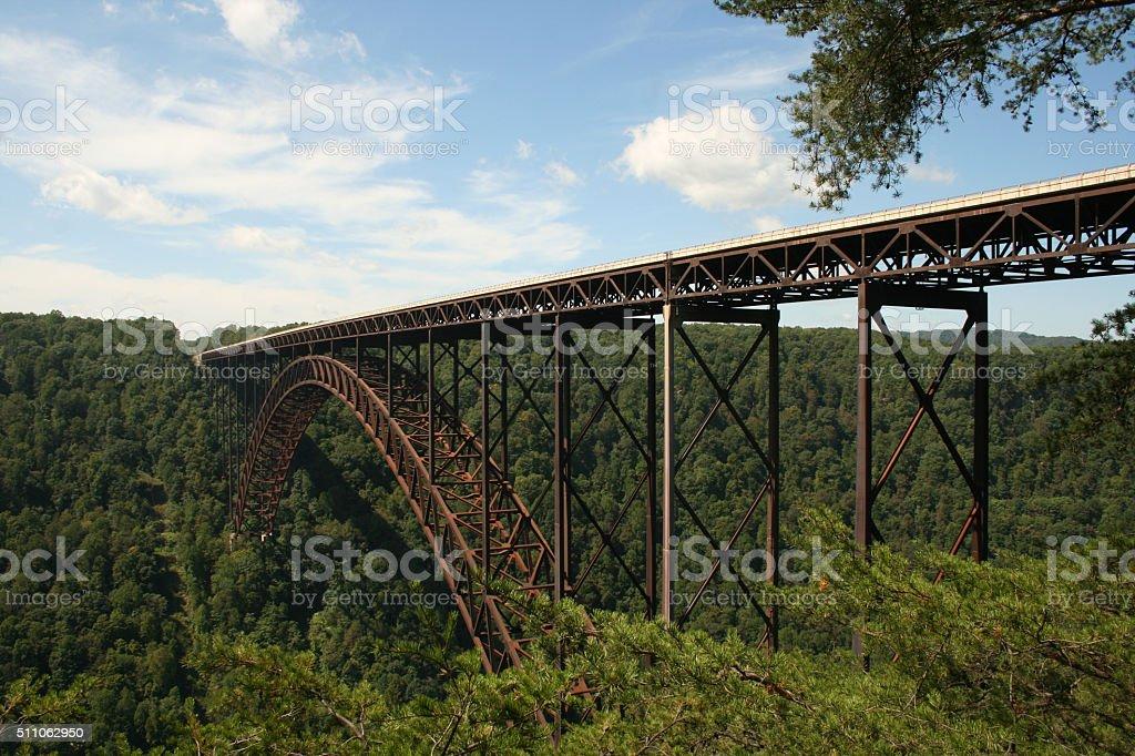 New River Gorge Bridge 3 stock photo