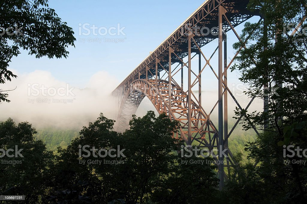 New River Gorge Bridge royalty-free stock photo