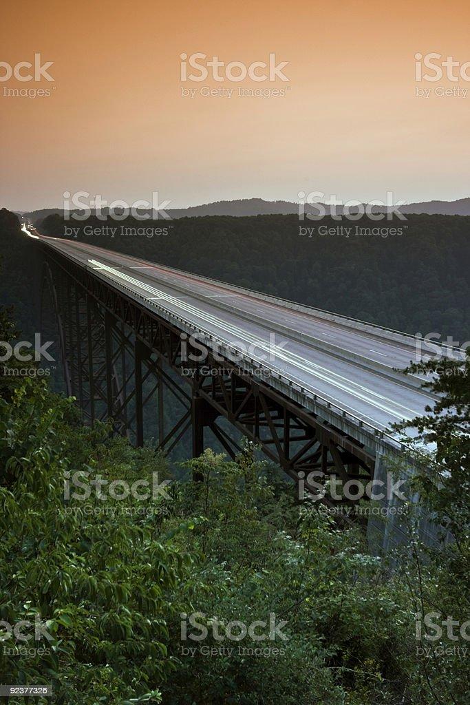 New River Gorge Bridge - West Virginia stock photo