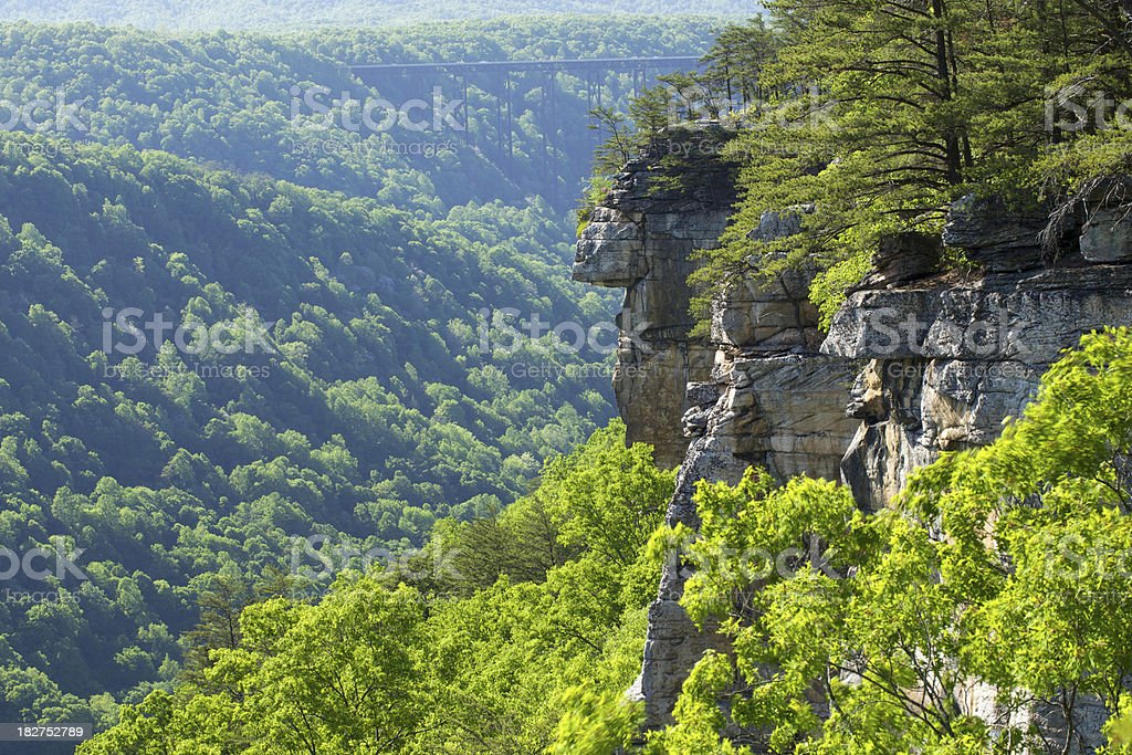 New River Gorge royalty-free stock photo