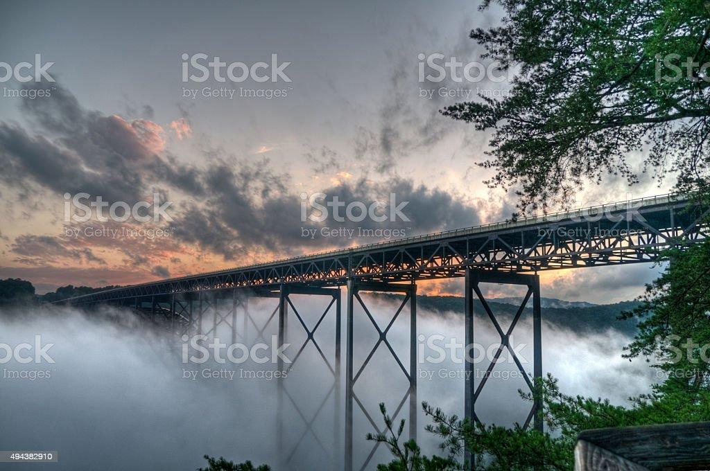New River Gorge stock photo