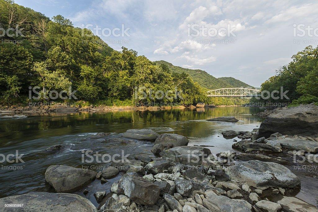 New River Gorge Scenic stock photo