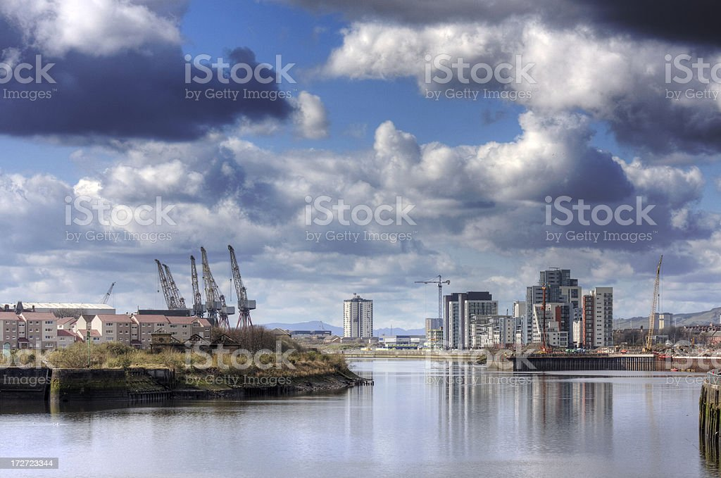 New Riverside Housing royalty-free stock photo