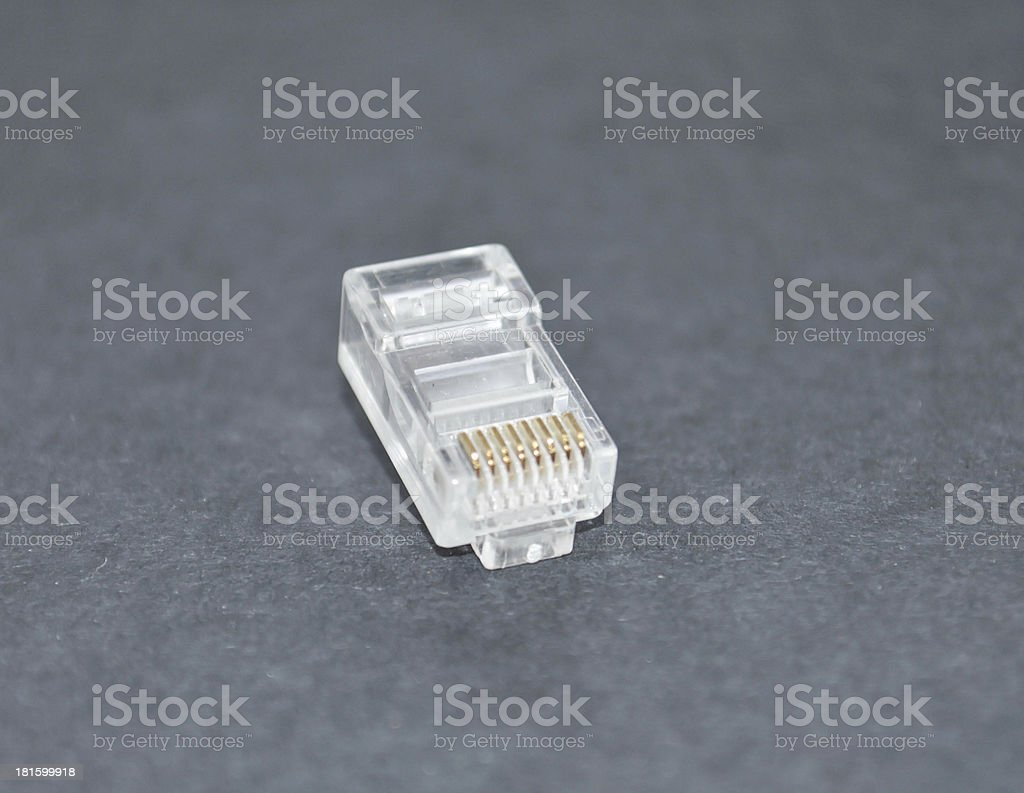 new RJ45 Clip royalty-free stock photo