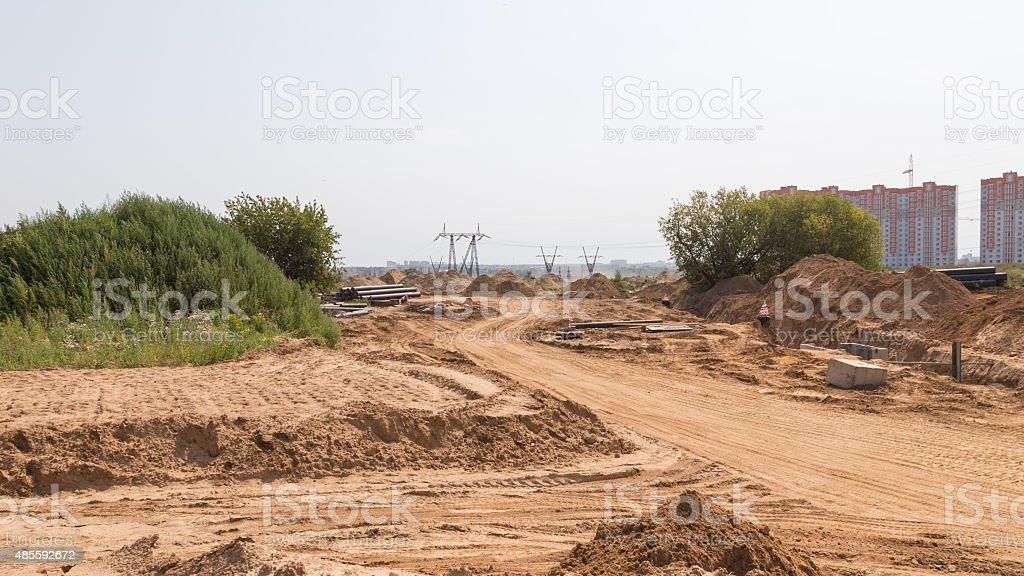 new road stock photo