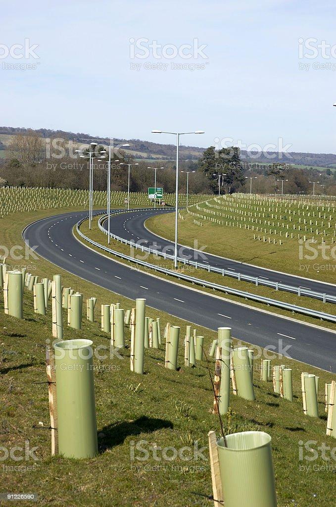 New Road royalty-free stock photo