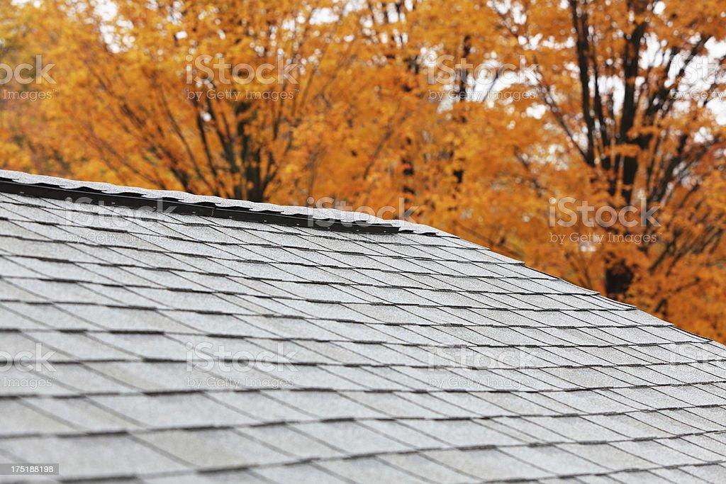 New Roof Ridge Vent stock photo