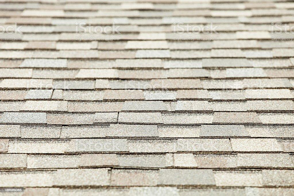 New Roof Shingle Background royalty-free stock photo
