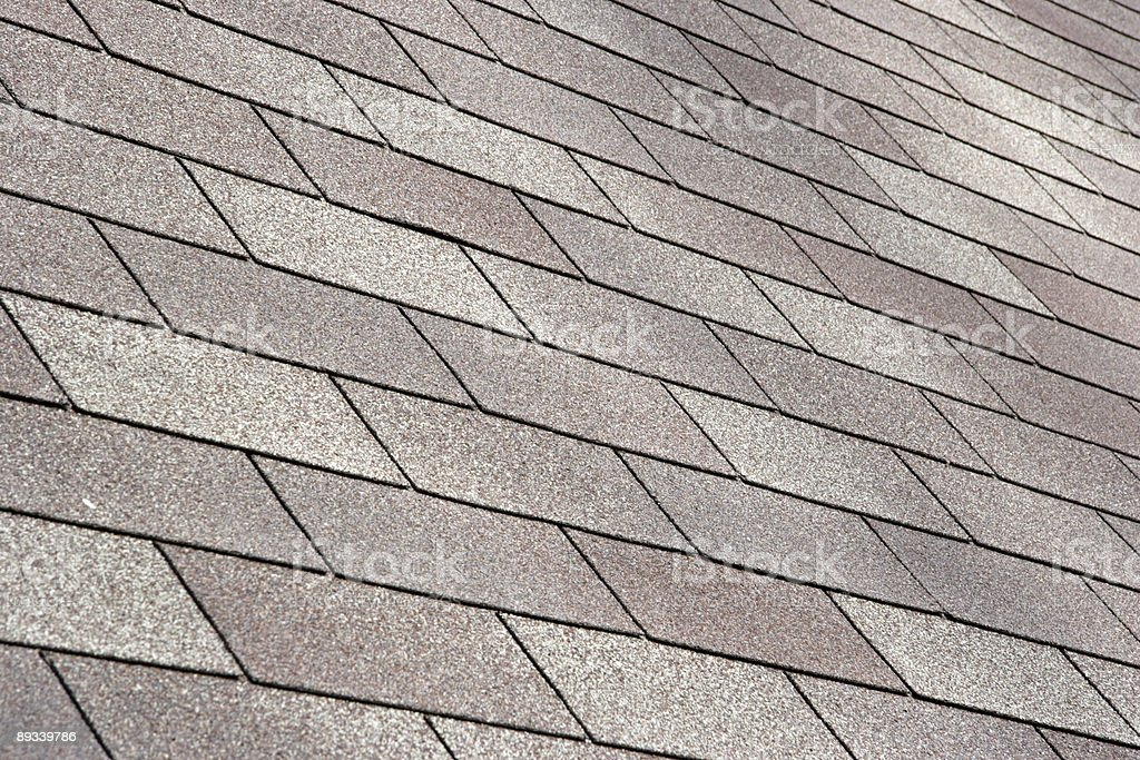 New Roofing royalty-free stock photo