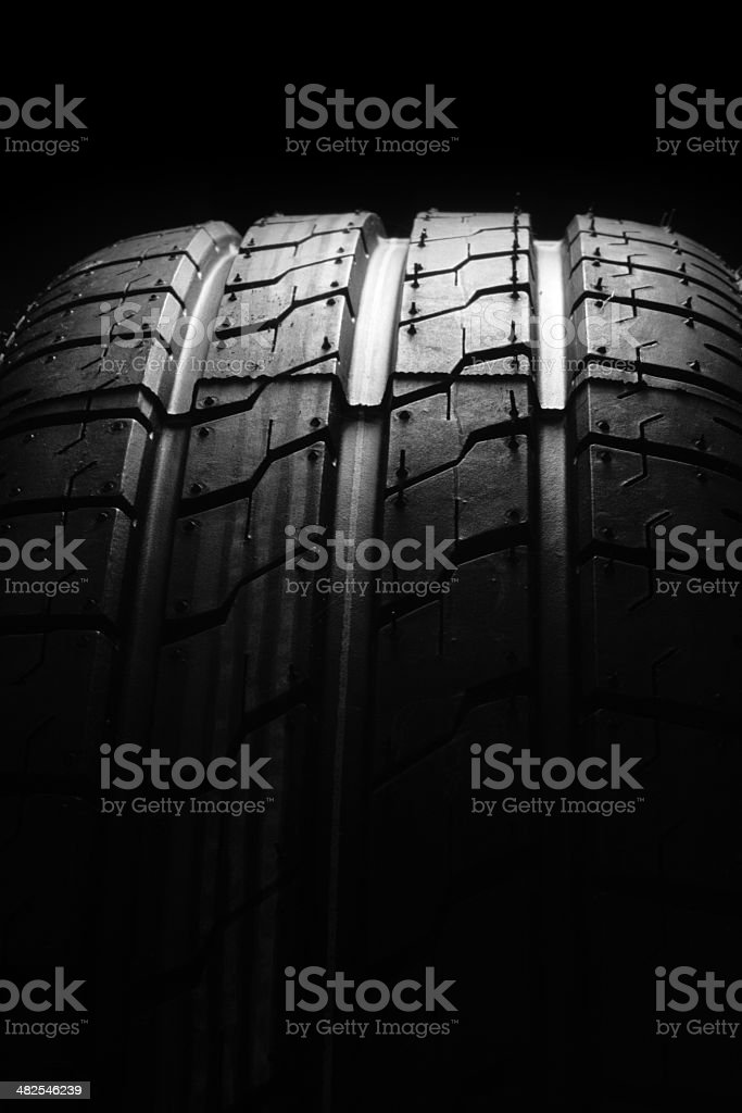 new rubber tyre royalty-free stock photo