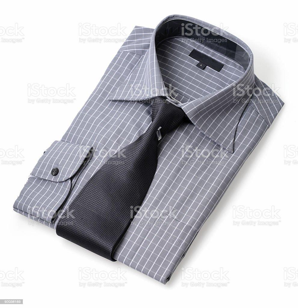 New shirt & tie royalty-free stock photo