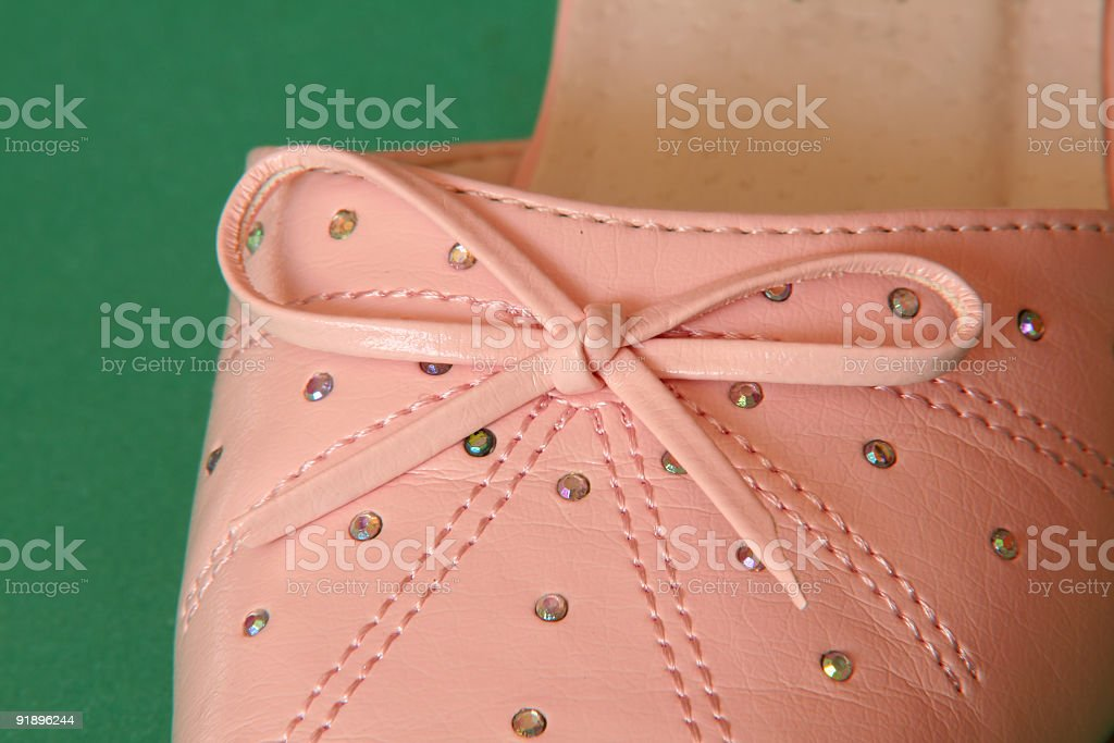 new shoe detail royalty-free stock photo