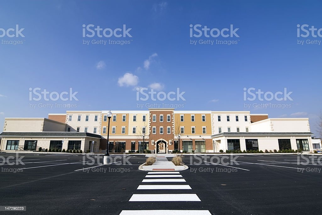New Shopping Mall royalty-free stock photo