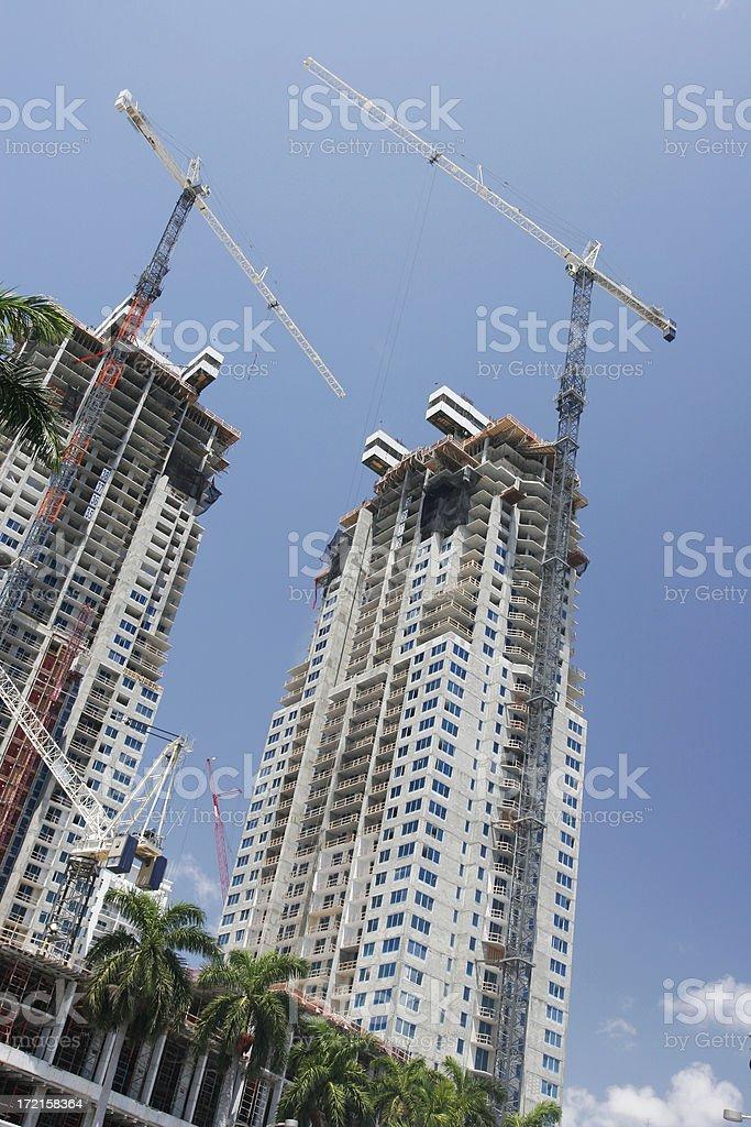 New Skyscraper Construction stock photo