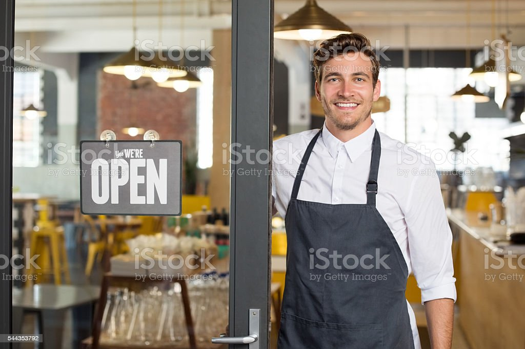 New small business stock photo