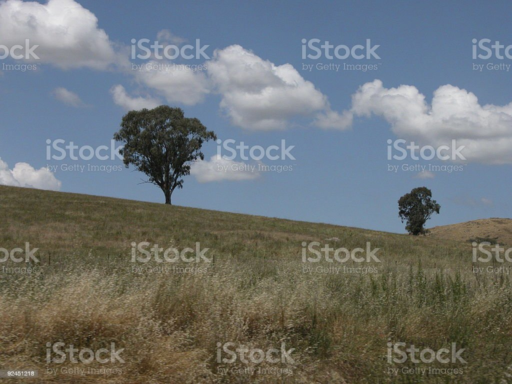 New South Wales landscape stock photo