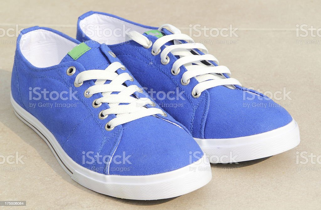 new sport shoes stock photo