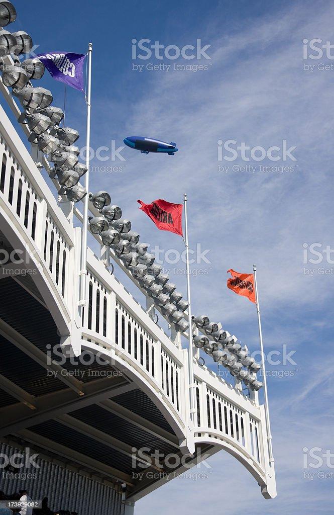New Stadium opening day royalty-free stock photo