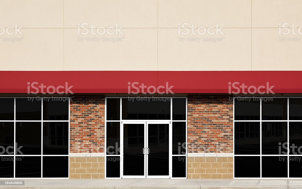 New Store Front stock photo