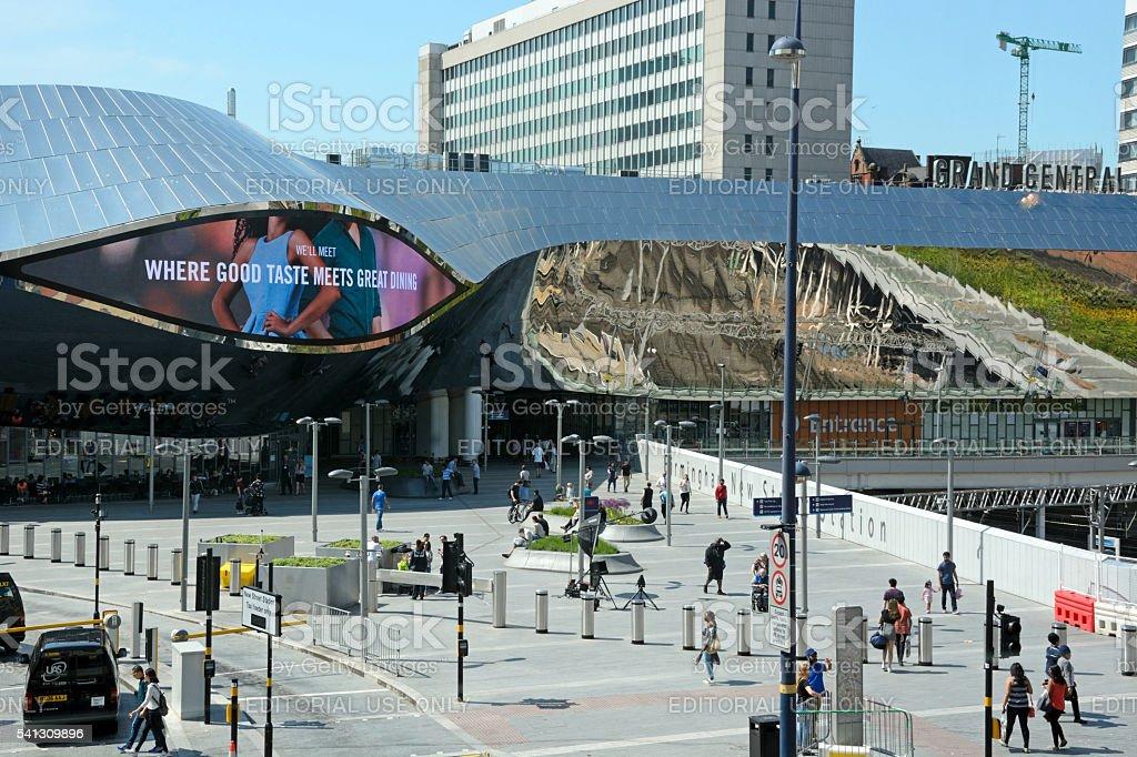 New Street Railway Station, Birmingham. stock photo