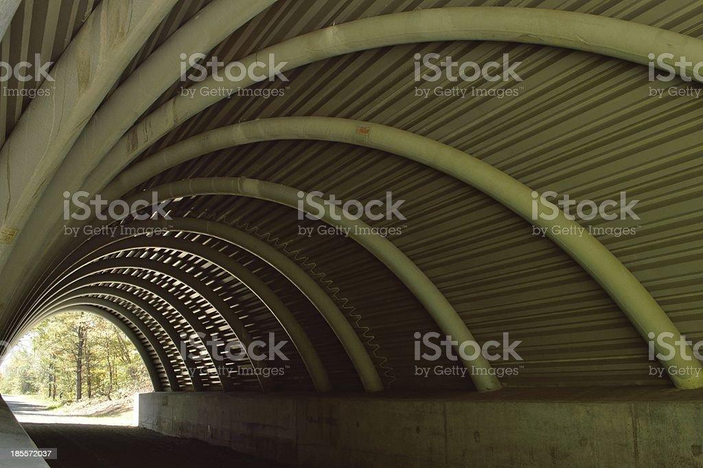 New style short span bridge stock photo