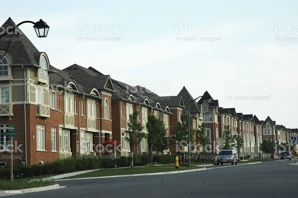 New Subdivision royalty-free stock photo
