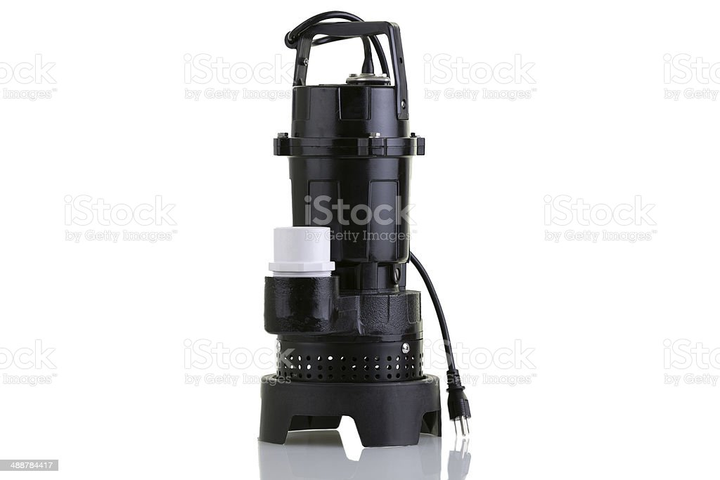 New sump pump stock photo