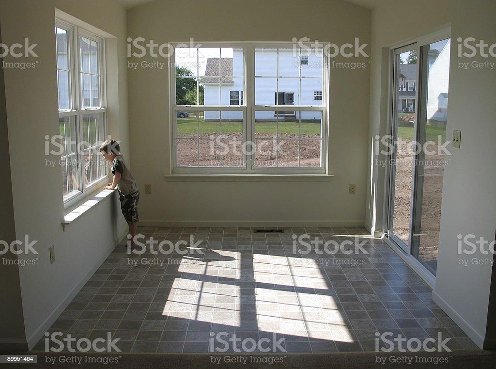 New Sunroom stock photo