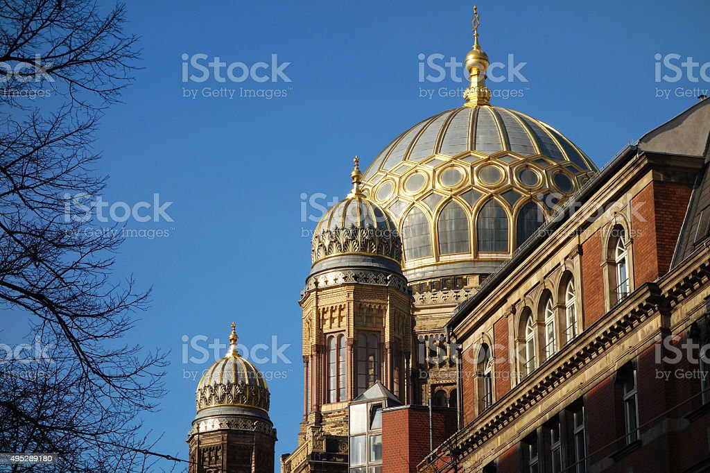 New Synagogue in Berlin, Germany stock photo
