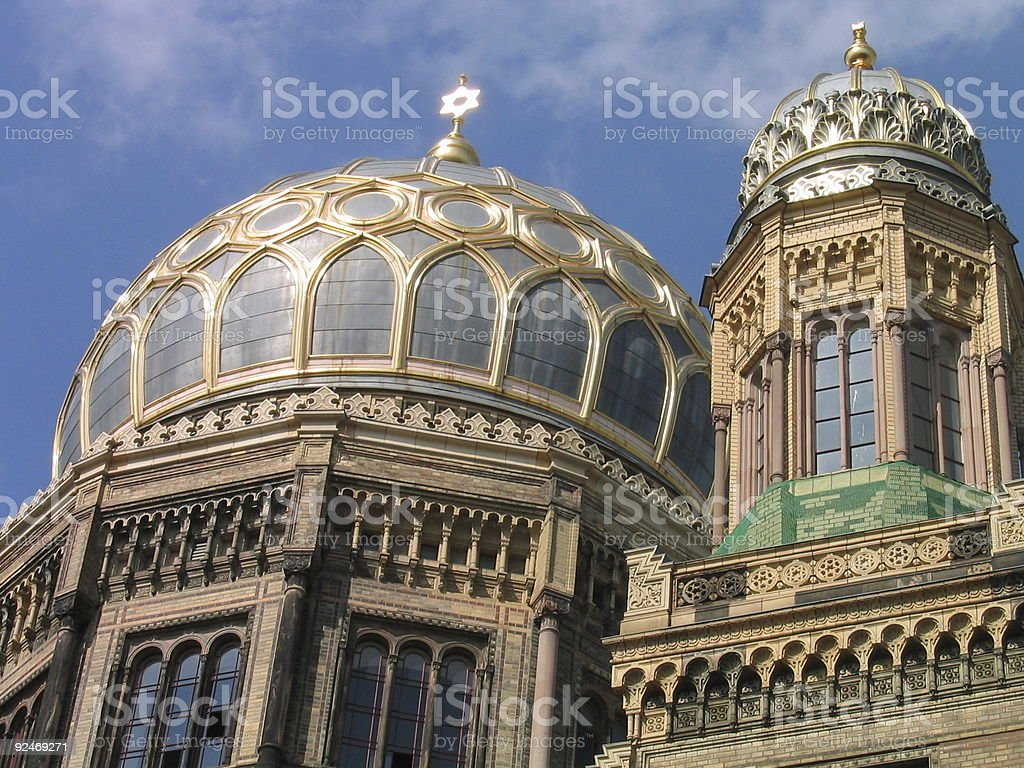 New Synagogue in Berlin royalty-free stock photo