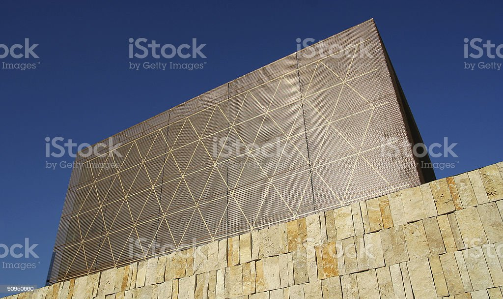 New synagogue in Munich stock photo