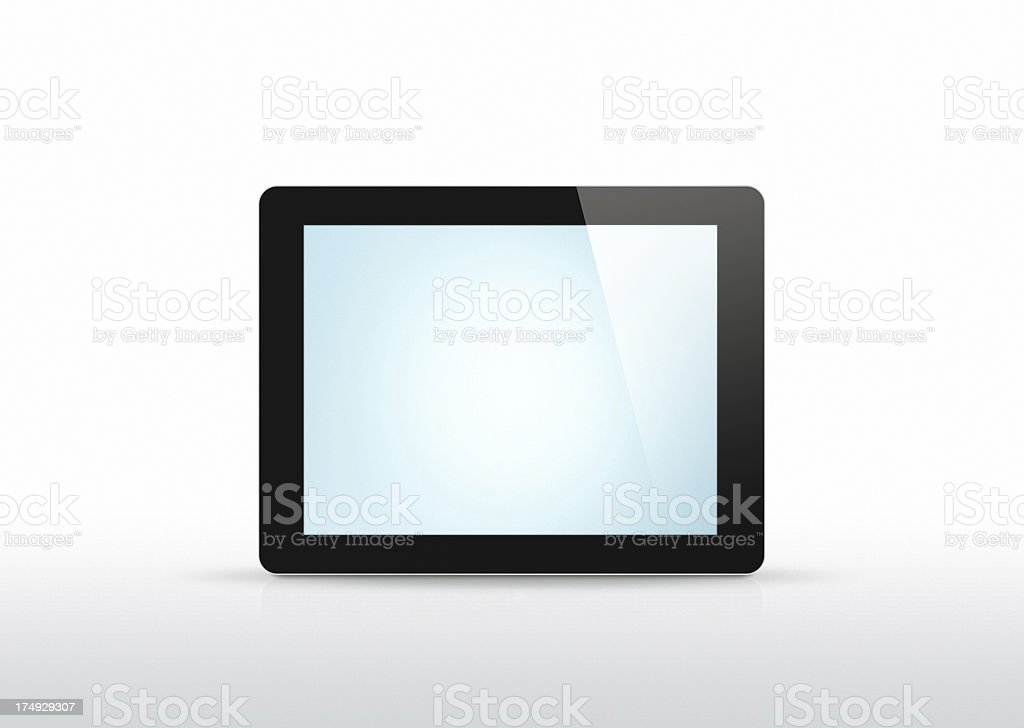 New Tablet - 2 Clipping paths royalty-free stock photo