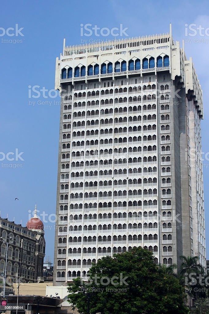 new taj mahel hotel, mumbai stock photo