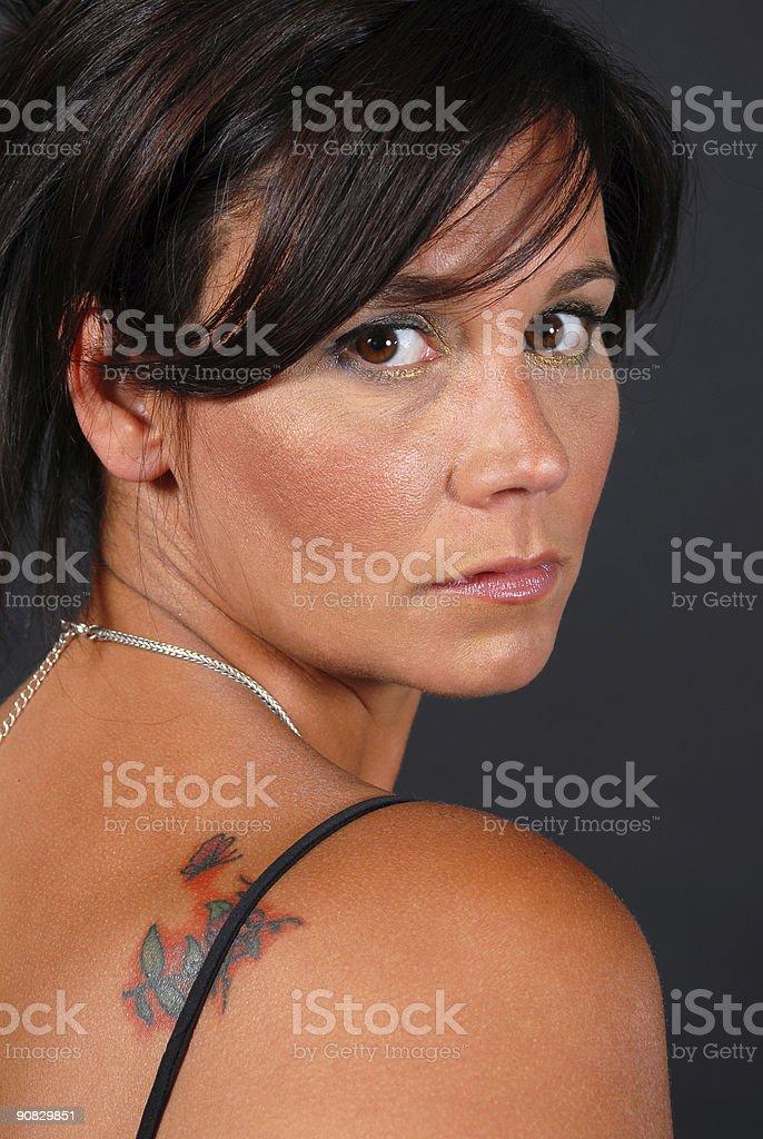 New Tattoo stock photo