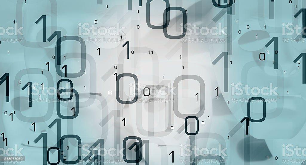 New tech abstract backdrop stock photo