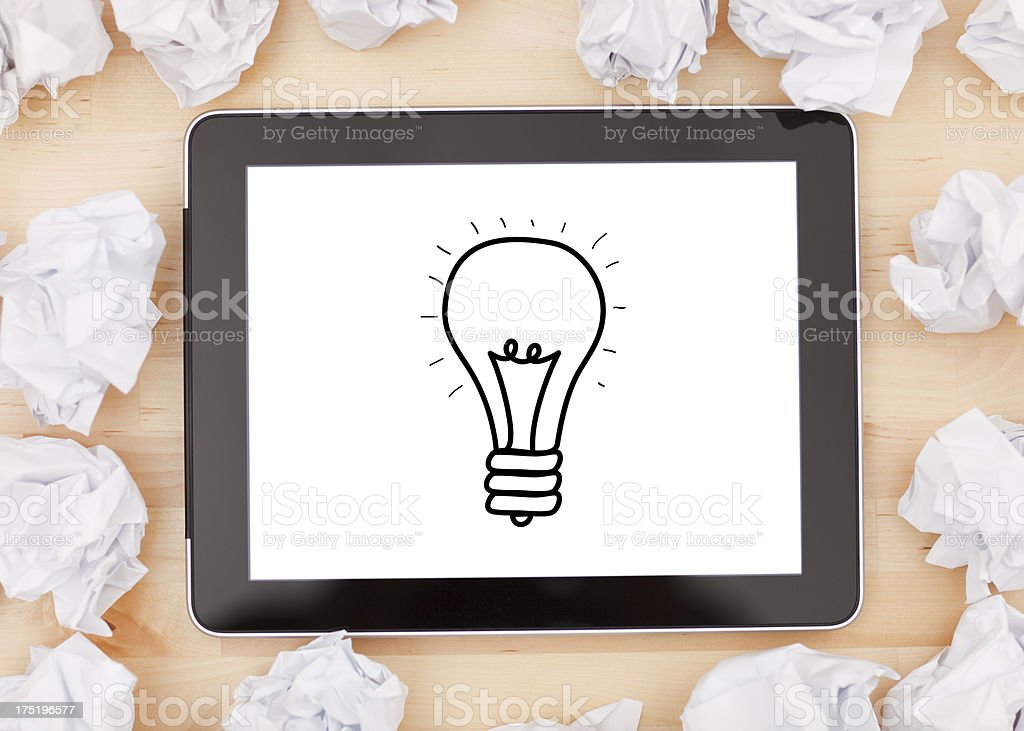 New technologies, innovation, creativity and ideas. royalty-free stock photo