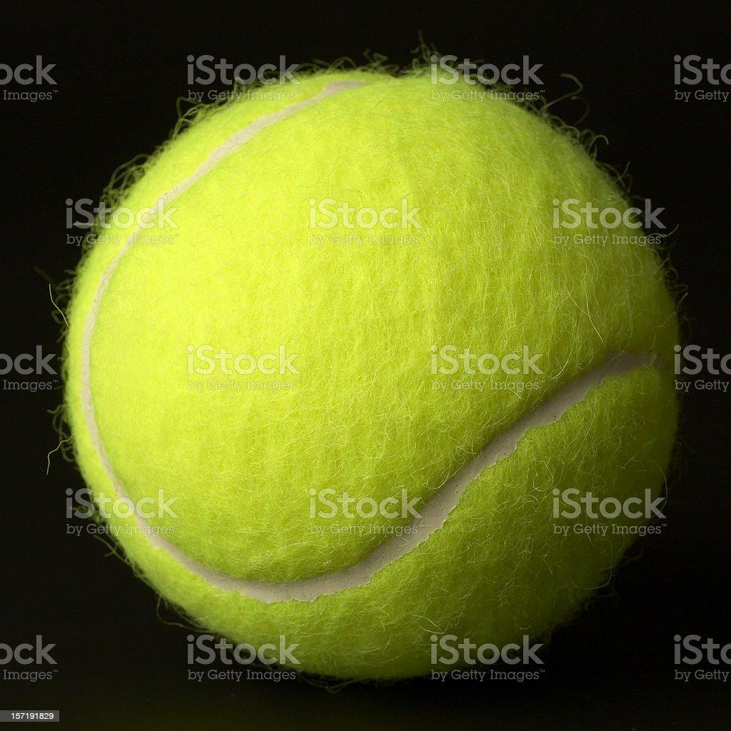 New tennis ball. stock photo