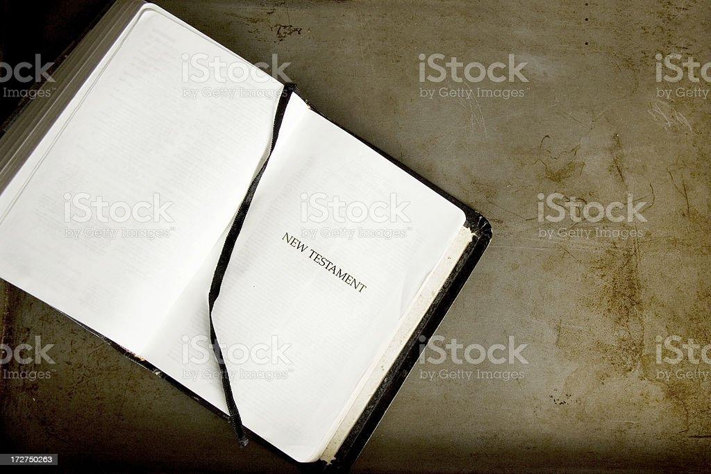New Testament stock photo