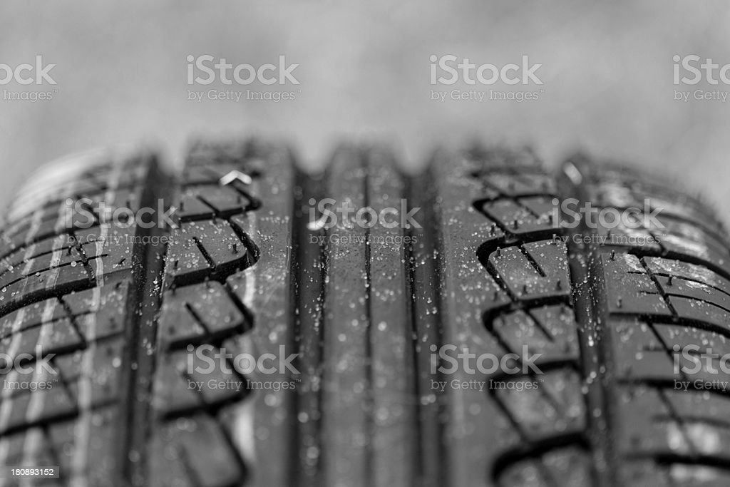 new tire pattern royalty-free stock photo