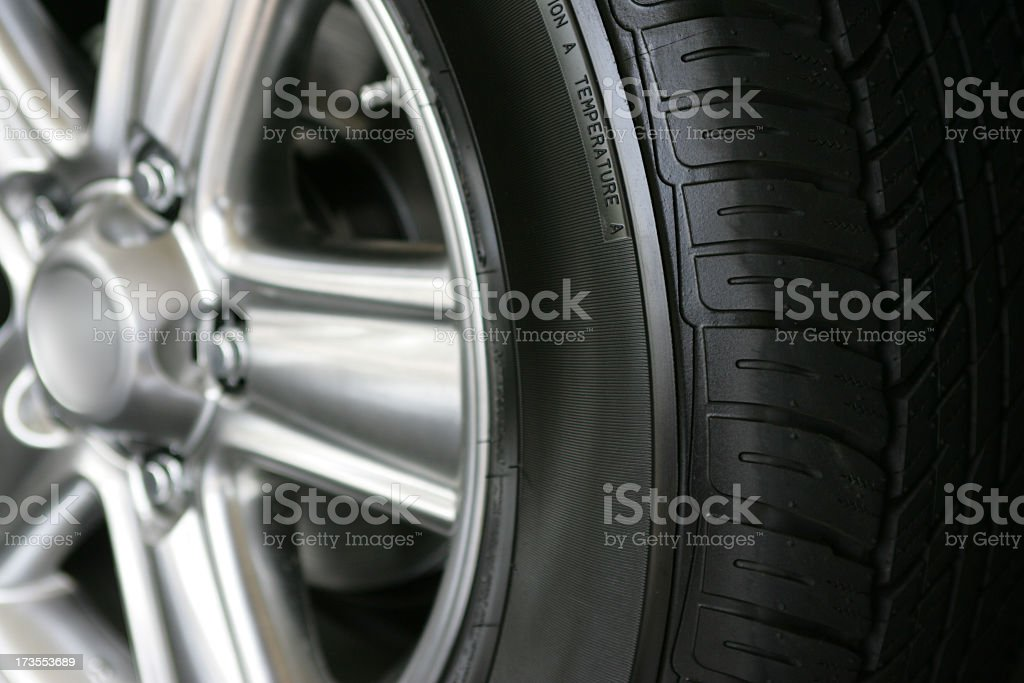 New tire stock photo