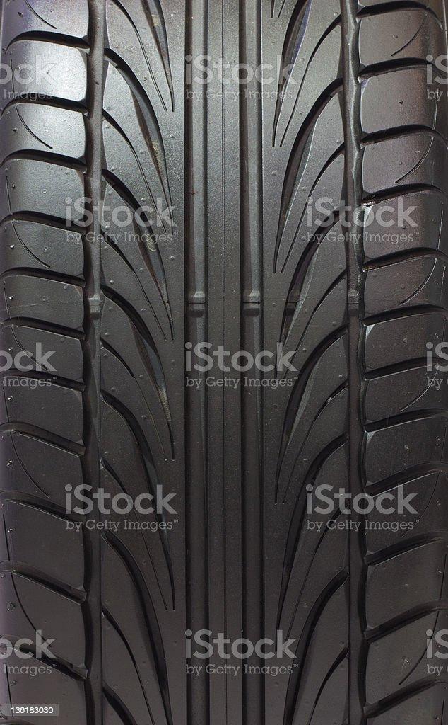 Nuovo tessuto pneumatici foto stock royalty-free