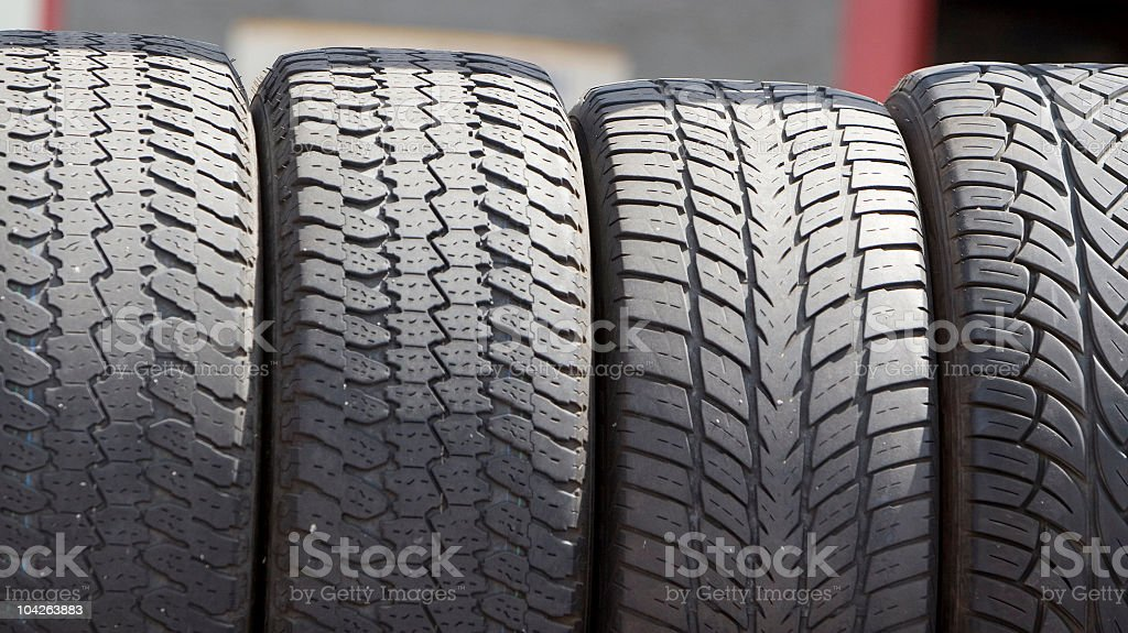 new tires royalty-free stock photo