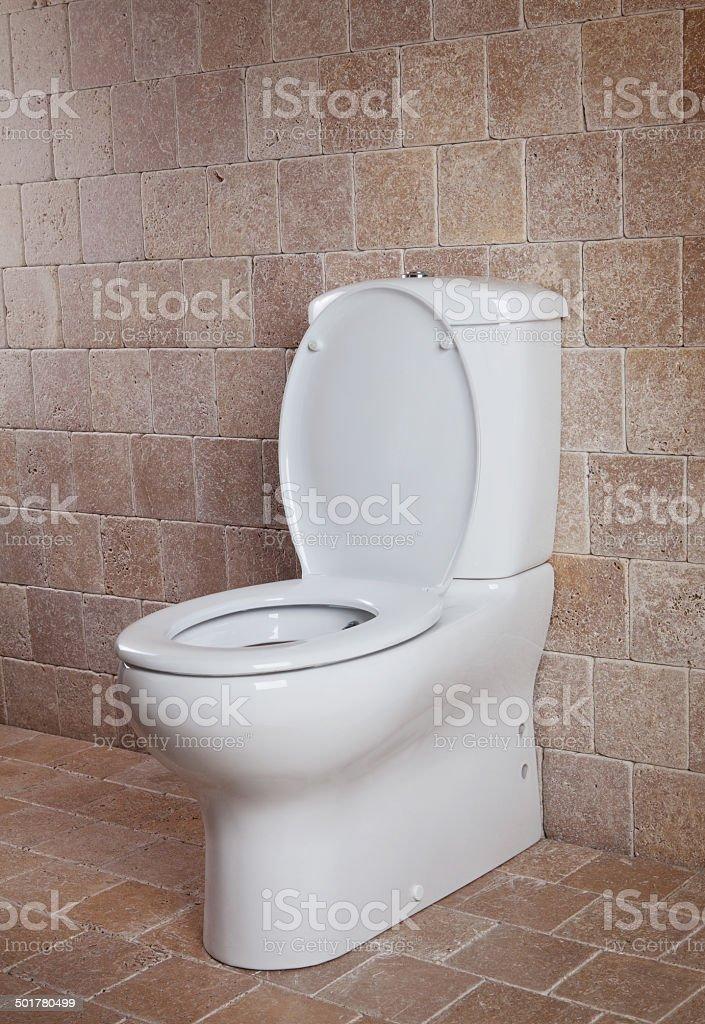 new toilet stock photo