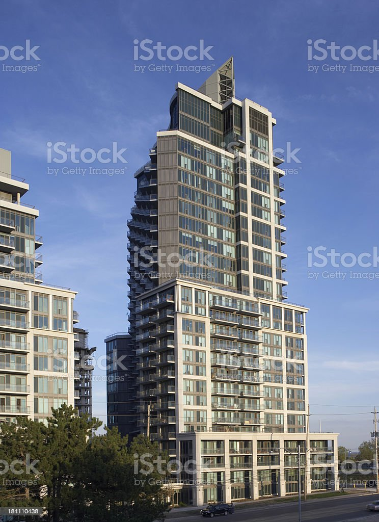 New tower Residence royalty-free stock photo