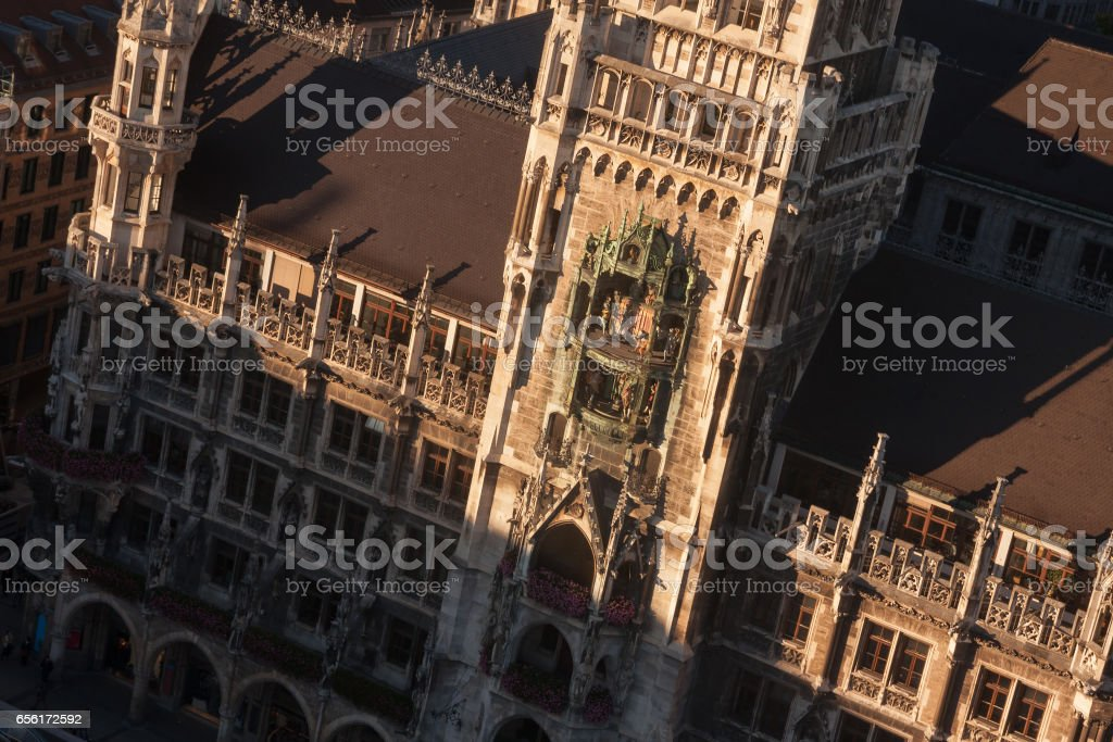 Neues Rathaus in Munich, Germany. stock photo