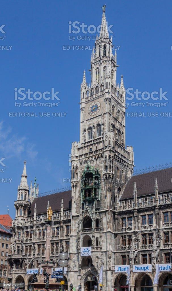 New Town Hall Munich Germany stock photo