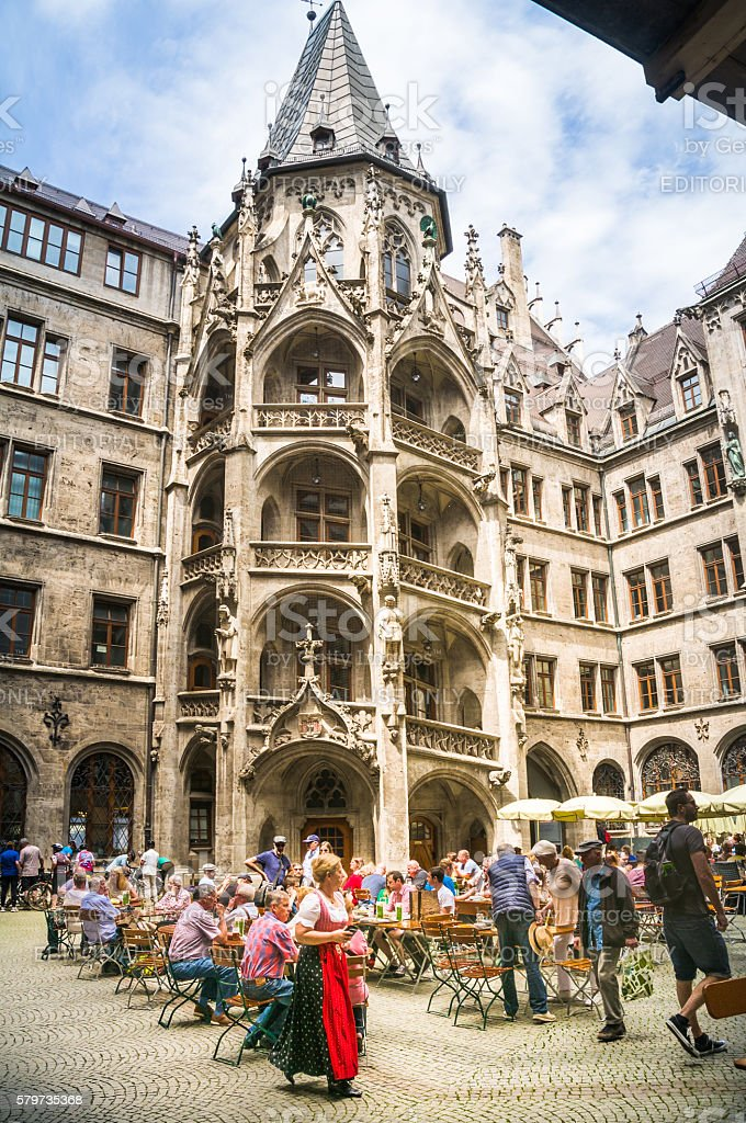 New Town Hall- Munich stock photo