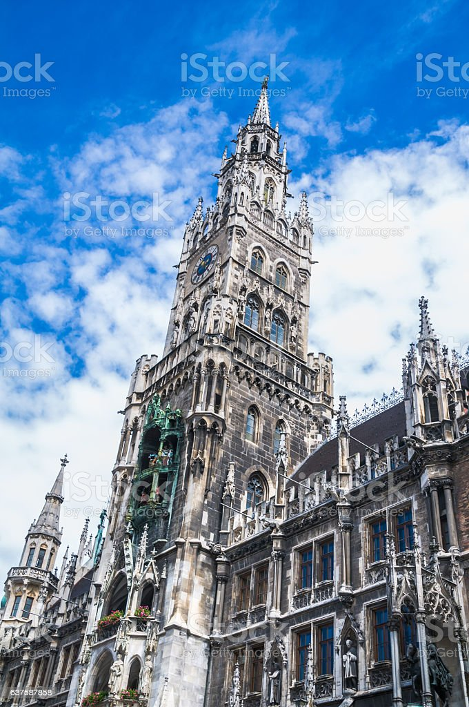 New Town Hall (Munich) stock photo
