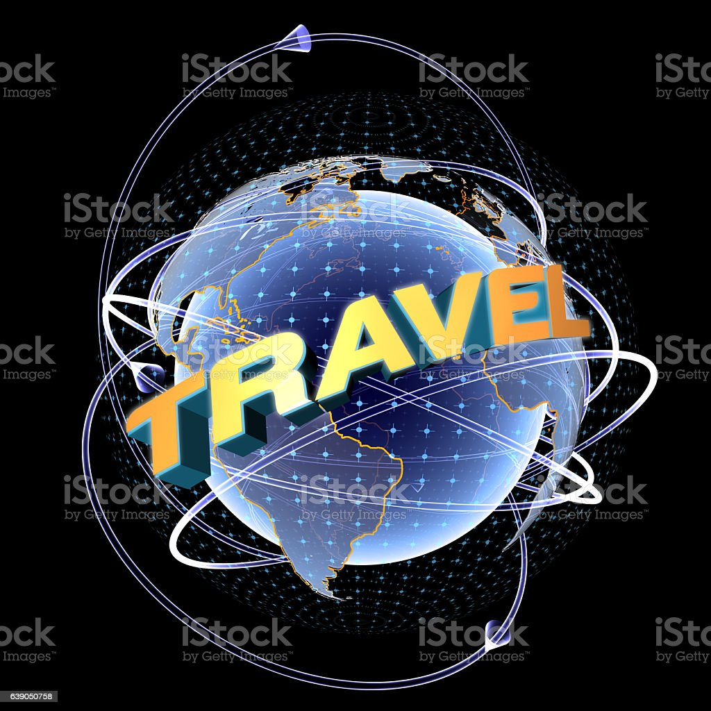 New Travel Location: Space. stock photo